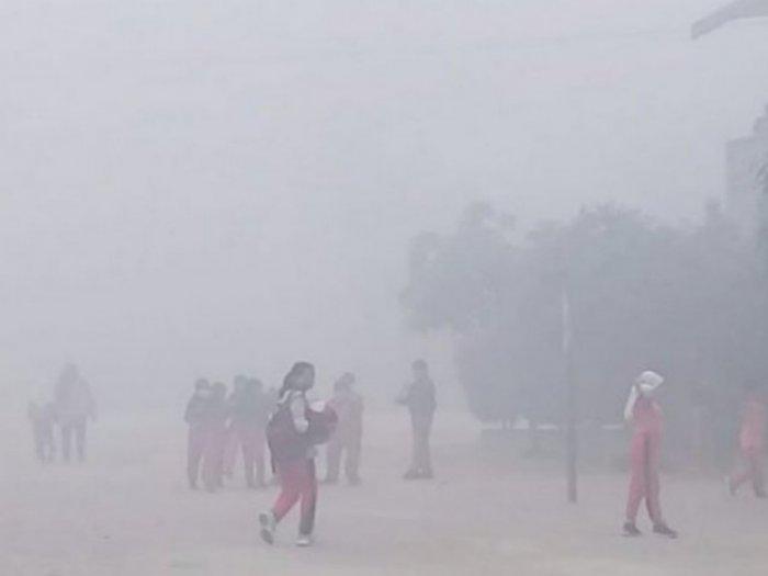 Kualitas Udara di Sampit Kalteng Berbahaya