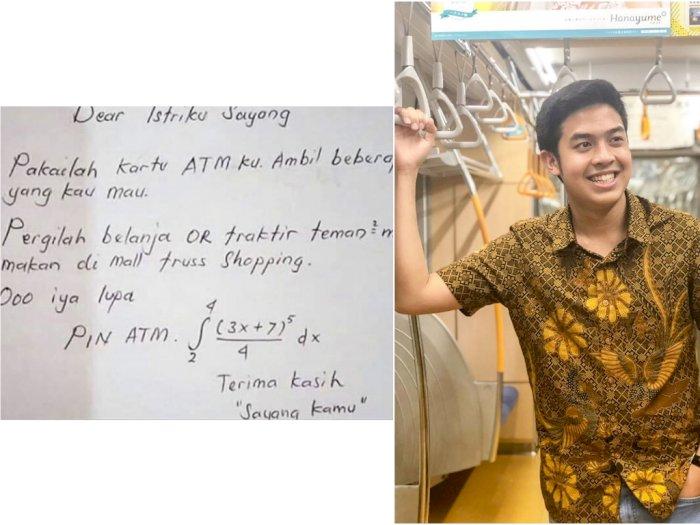 Viral Soal Matematika Berisi PIN ATM, YouTuber Ini Ungkap Jawabannya