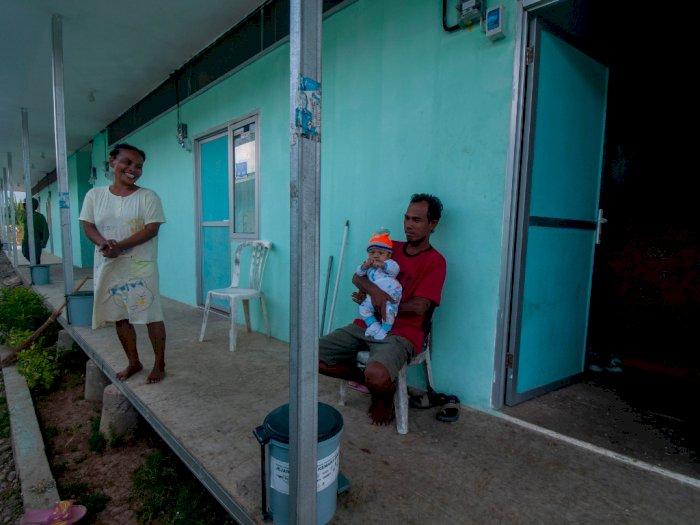 Korban Gempa di Maluku Desak Pemkab untuk Percepat Pembangunan Huntara