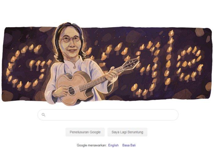 Google Rayakan Ulang Tahun Chrisye Dengan Tampilkan Doodle