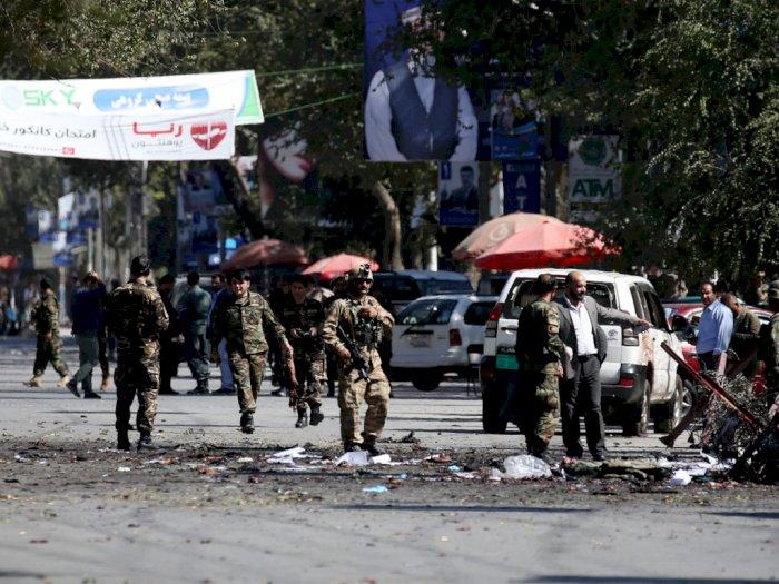 24 Orang Tewas Akibat Bom Bunuh Diri di Kampanye Presiden Afghanistan