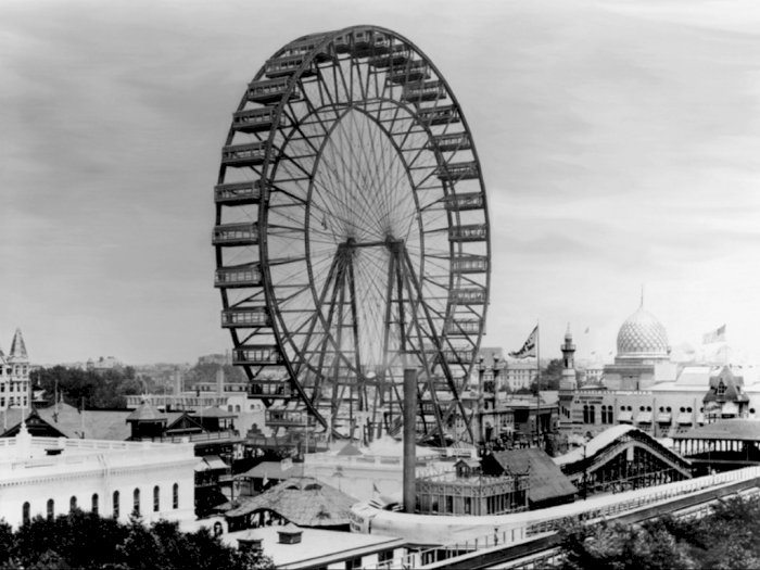 Bianglala Pertama Dunia, Dibangun Untuk Saingi Menara Eifel