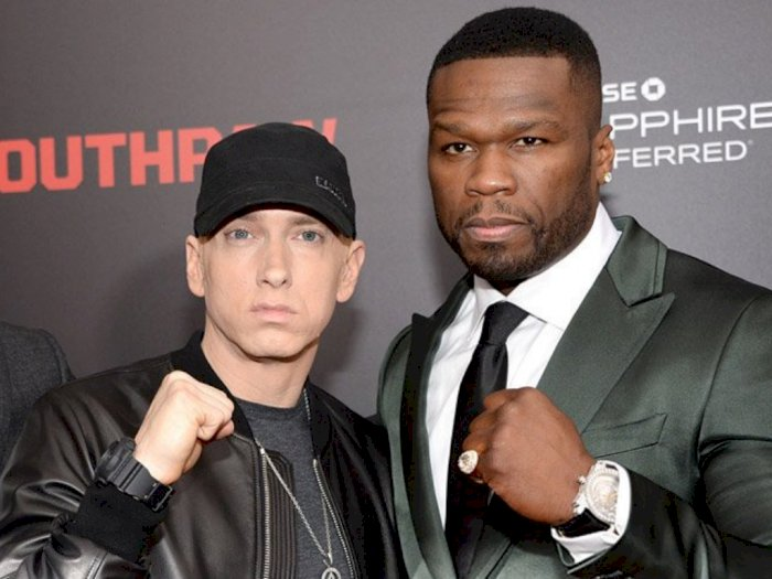 Kolaborasi Eminem dan 50 Cent Masuk Sesi Produksi