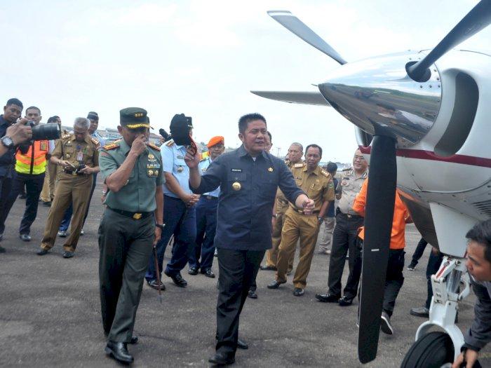 Fokus Tangani Karhutla, Gubernur Sumsel Batal Keluar Negeri