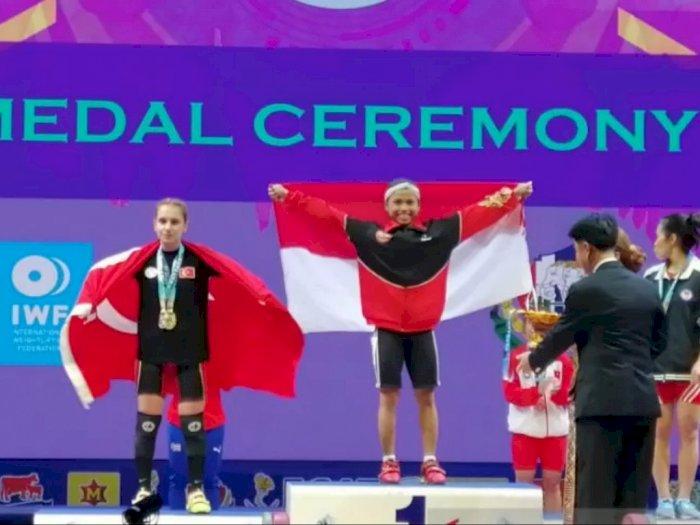 Lifter Lisa Setiawati Rebut Emas Pertama di Kejuaraan Dunia