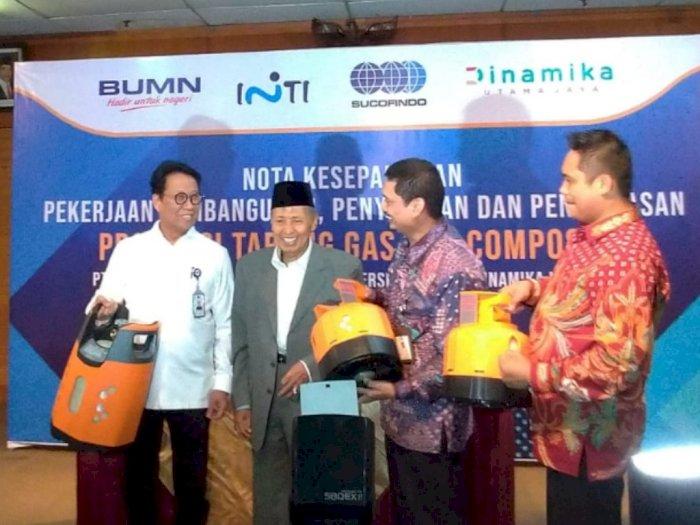 BUMN Bakal Bikin Tabung LPG Composite