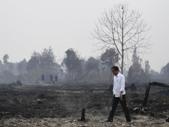 Jokowi Tolak Bantuan Malaysia untuk Padamkan Karhutla