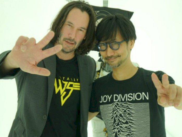 Hideo Kojima Tertarik Hadirkan Keanu Reeves di Game Baru Buatannya