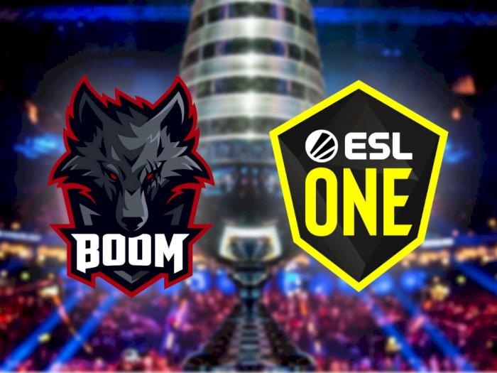 BOOM Esports Lolos ke Babak Closed Qualifier ESL One Hamburg DotA 2