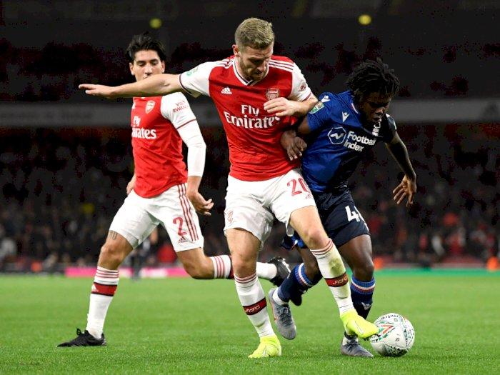 Arsenal Tekuk Nottingham Forest 5-0