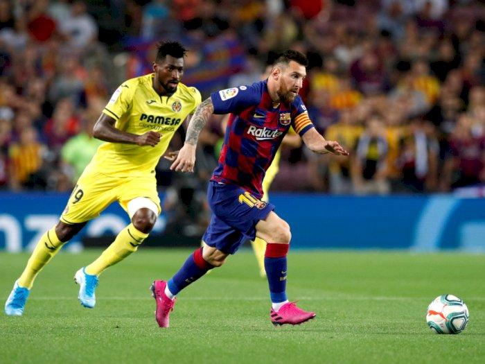Messi Cedera, Barca Menang 2-1 Atas Villarreal