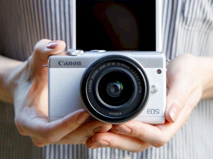 Canon EOS M200, Kamera Mirrorless Baru Dari Canon Untuk Para Pemula