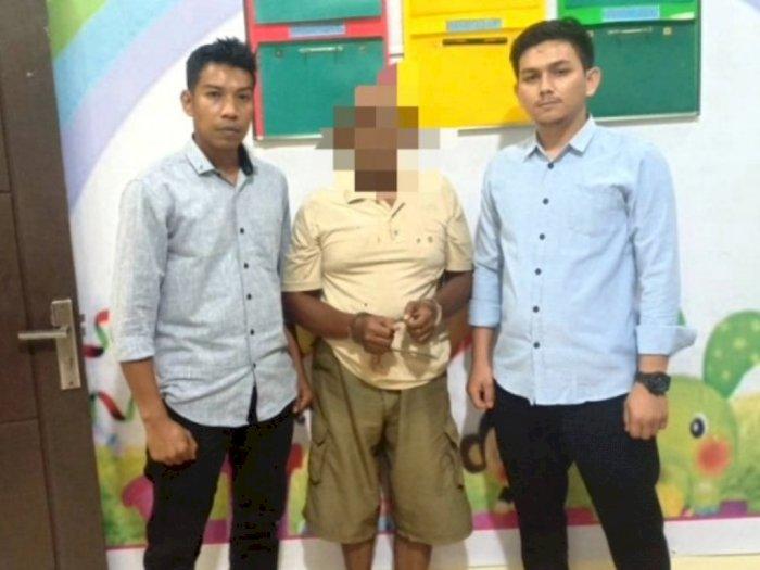 Cabuli Anak Tiri Hingga Hamil, Warga Nagan Raya Aceh Ditangkap