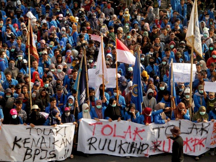 4 Demonstrasi Besar di Indonesia yang Dimotori Mahasiswa