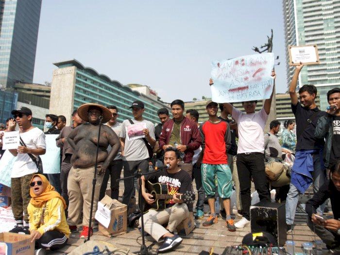 Data AJI: 10 Jurnalis Jadi Korban Kekerasan Saat Demo Mahasiswa