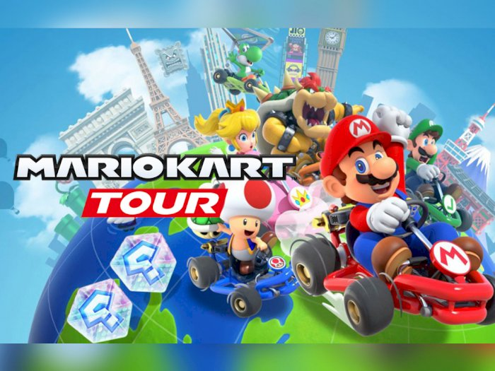 Game Mario Kart Tour Dapat 20 Juta Unduhan di Hari Pertama