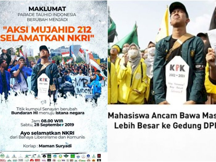 KM ITB Protes Soal Poster Aksi Mujahid 212