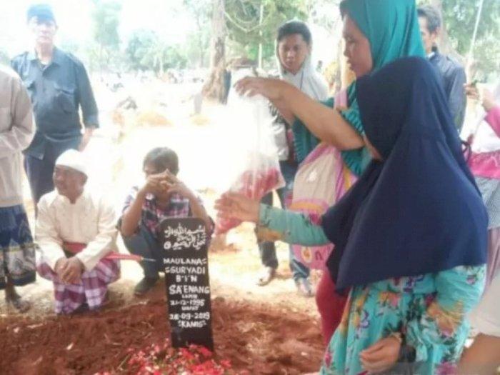 Maulana Suryadi Sempat Minta Maaf ke Ibu Sebelum Meninggal Saat Demo