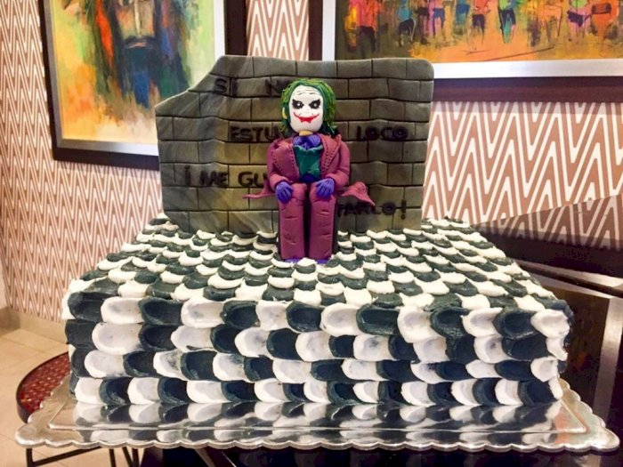 Lagi Hype, Berikut Sederet Kue Tart Unik Bertema Joker