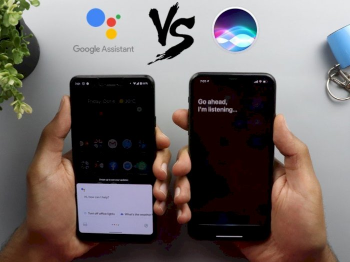 Google Assistant vs Siri di Tahun 2019, Siapa Lebih Unggul?