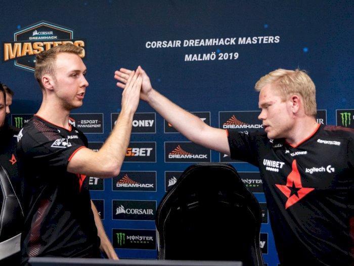 Usai DreamHack Masters Malmö, Astralis Rebut Gelar Tim CS:GO Nomor 1