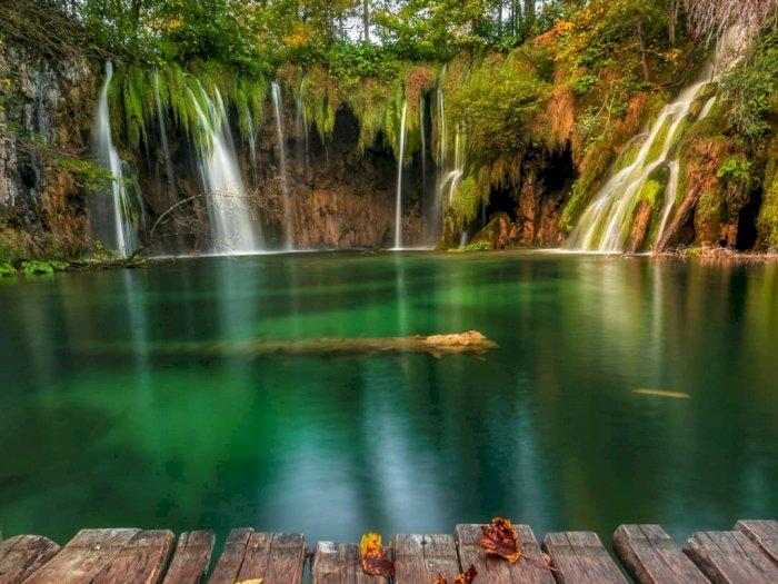 FOTO: Bak Lukisan Dinding, Ini Potret Danau-danau Cantik di Kroasia