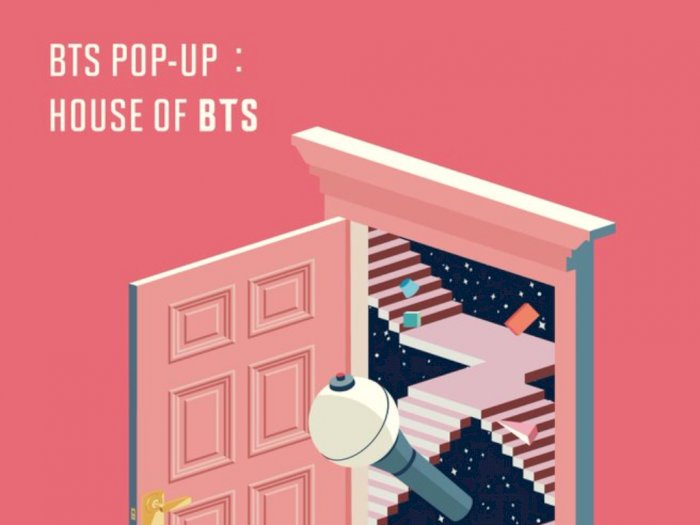 "Manjakan Penggemar, Big Hit Buka ""House of BTS"" di Seoul"