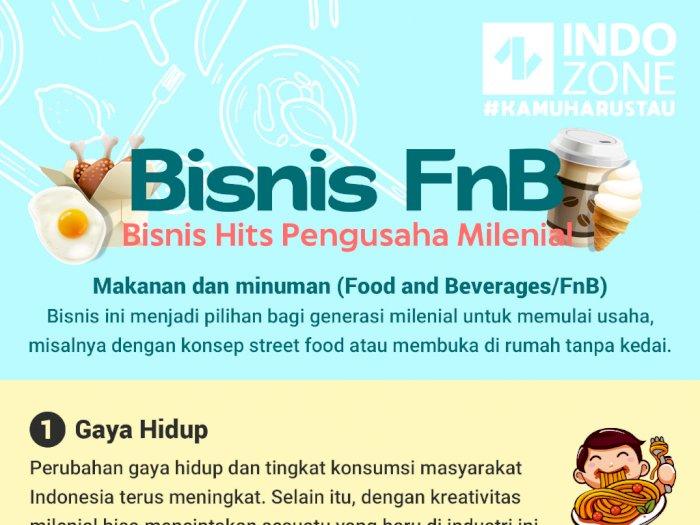 Bisnis FnB, Bisnis Hits Pengusaha Milenial