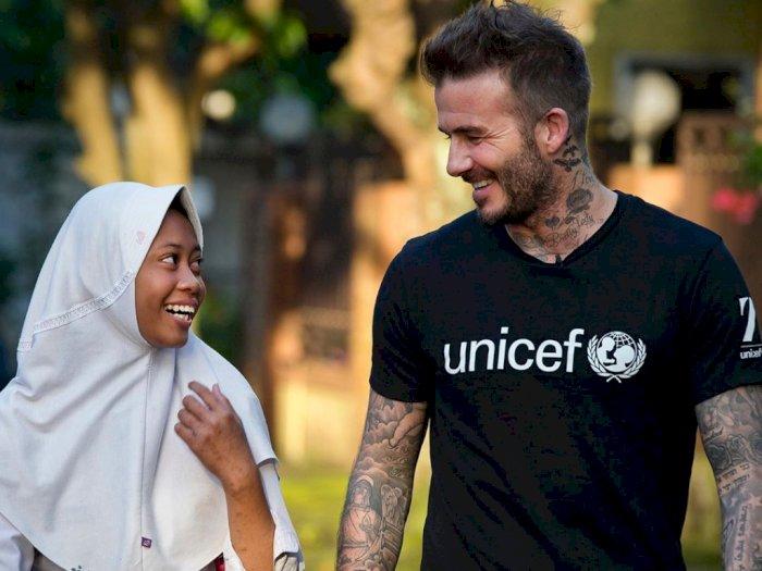 Lewat Instagramnya, David Beckham Kenang Indonesia