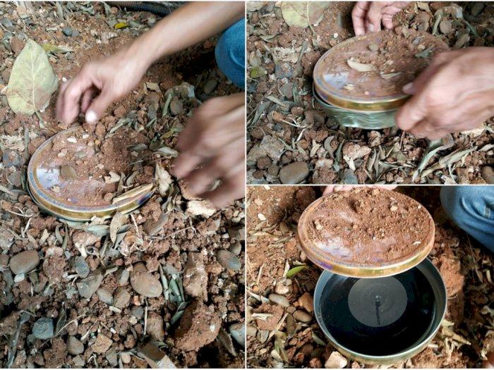 Piringan Hitam Ditemukan dalam Tanah, Isi Lagunya Bikin Heboh Netizen
