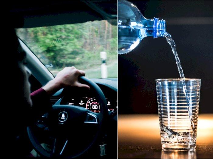 Di Australia, Minum Air Sambil Menyetir Siap-siap Kena Denda