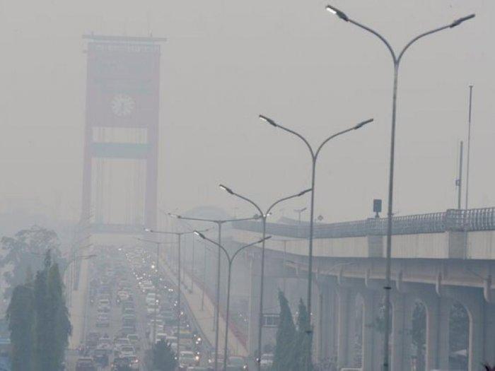 Kabut Asap di Palembang Makin Parah, Nahkoda Wajib Lakukan Ini