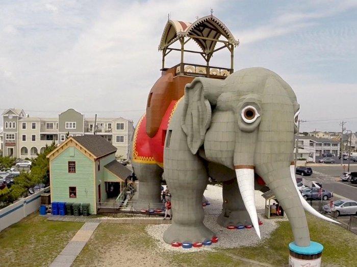 Lucy the Elephant, Bangunan Tua Berbentuk Gajah Sejak 1881