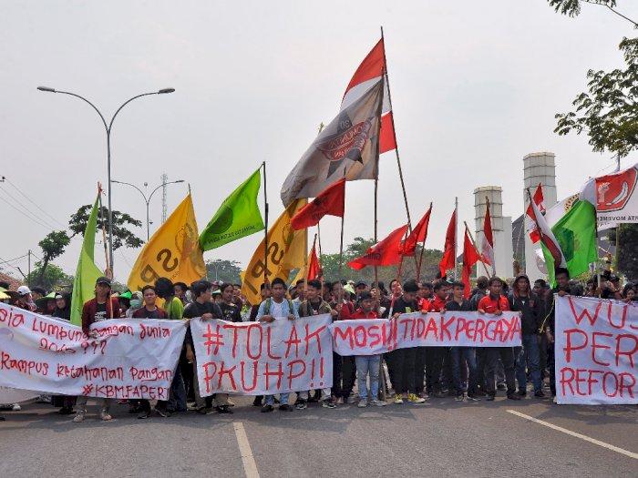Dilarang Demo, BEM SI : Kami Aksi, Polisi yang Amankan