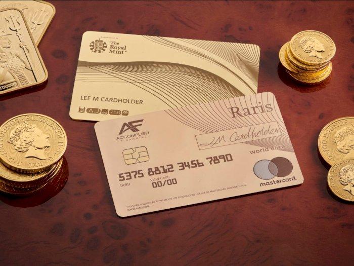 Ada Kartu Kredit Terbuat dari Emas di Inggris, Berapa  Harganya?