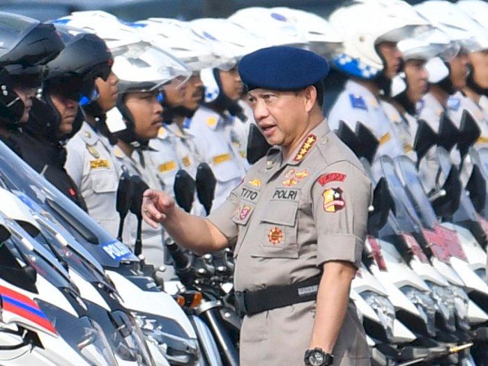3 Alasan Kapolri Larang Demo saat Pelantikan Jokowi-Ma'ruf Amin