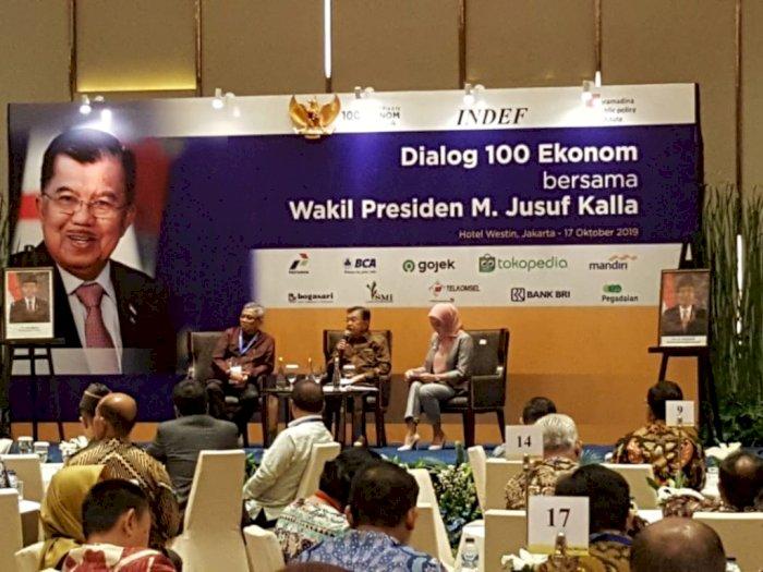 Utang Indonesia Tembus Rp 5.000-an Triliun, Wapres JK Sebut Masih Aman