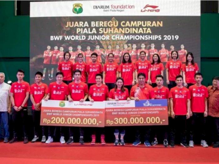 Juara World Junior Championships 2019 Terima Bonus Ratusan Juta