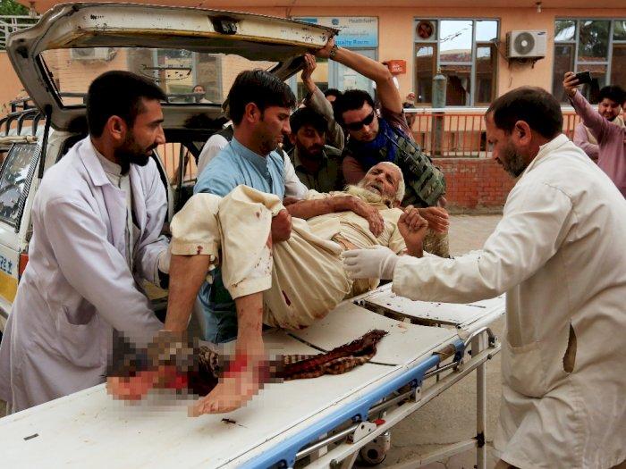Korban Tewas Bom Meledak di Masjid Afghanistan Jadi 62 Orang