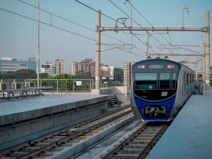 Perhatian! Pintu Stasiun MRT Benhil Ditutup Sampai Malam