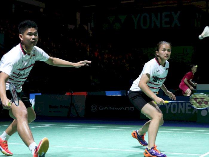 Bungkam Ganda China, Praven/Melati Jadi Kampiun di Denmark Open