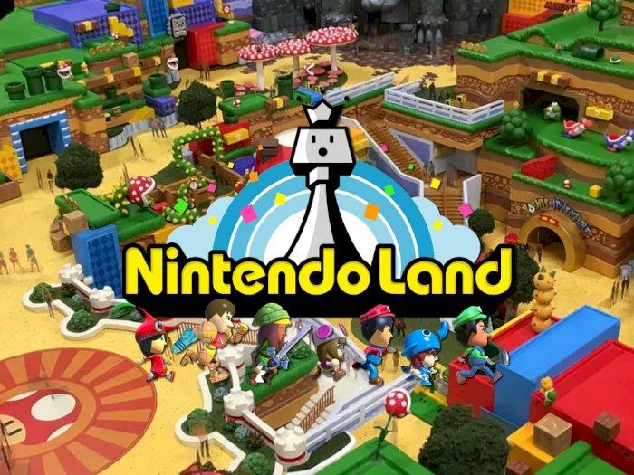 Saingi Disney Land, Nintendo Akan Resmikan Taman Bermain Pertamanya