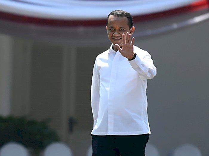 Bahlil Bicara Investasi dan Ekonomi Bareng Jokowi