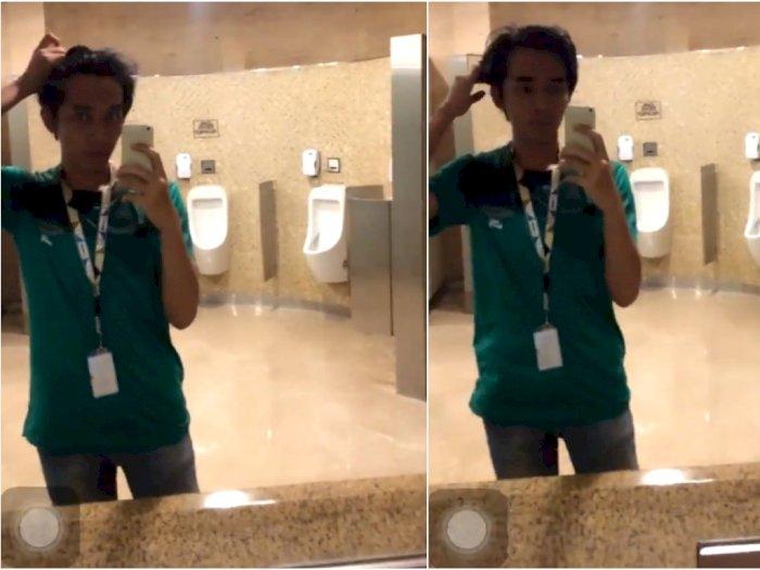 Selfie di Depan Cermin, Pria Ini Kaget Saat Dengar Suara Misterius