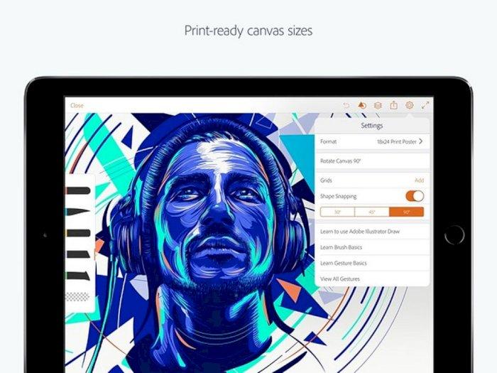 Adobe Bakal Luncurkan Aplikasi Illustrator untuk Pengguna iPad