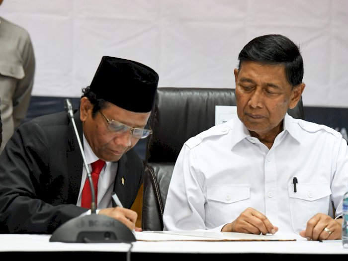 Ungkapan Haru Mahfud MD Pada Wiranto