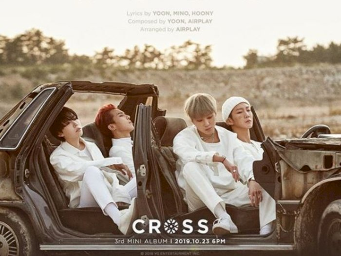 "Album Mini Winner ""CROSS"" Menempati Top iTunes di 23 Negara"