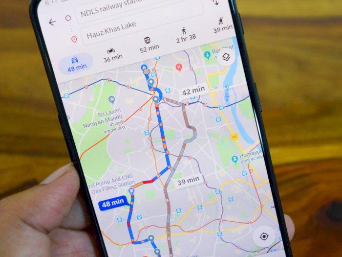 Google Maps Hadirkan Fitur Baru Untuk Cegah Supir Taksi Nakal