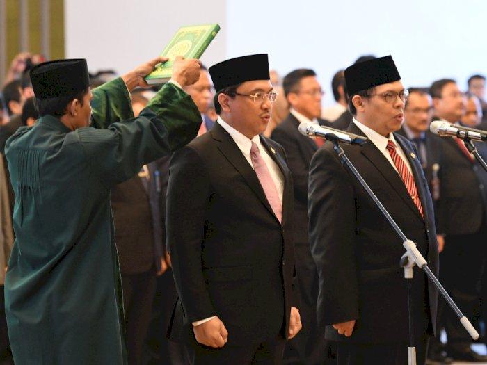 Jokowi Resmi Lantik Wakil Menteri Kabinet Indonesia Maju