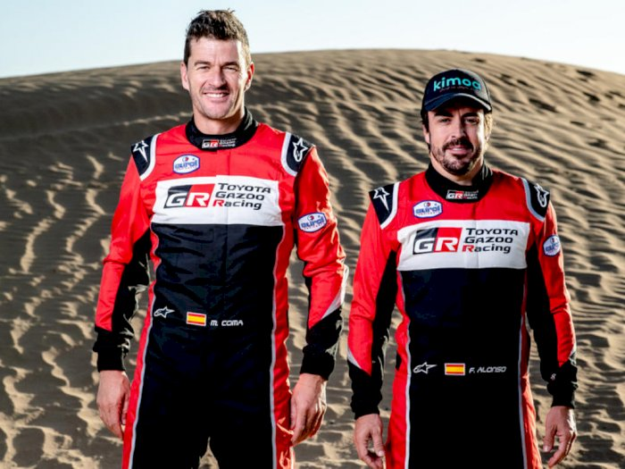 Eks Juara Dunia Formula 1, Fernando Alonso Turun ke Reli Dakar